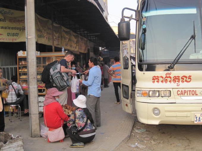 Capitol bus from Phnom Penh to Battambang