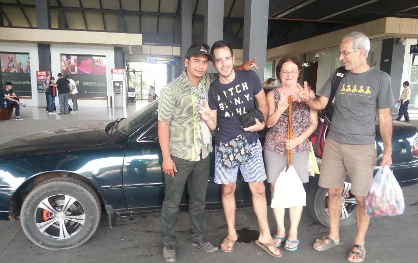 Taxi from Phnom Penh to Battambang