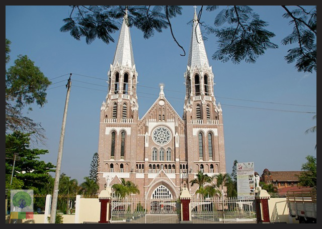 St. Mary's Cathedral in Yangon
