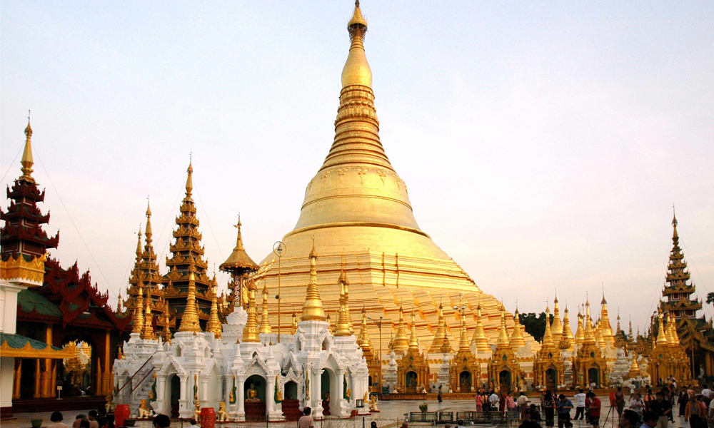 The stunning beauty of Botataung Pagoda