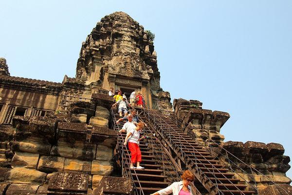 Angko wat in Campuchia