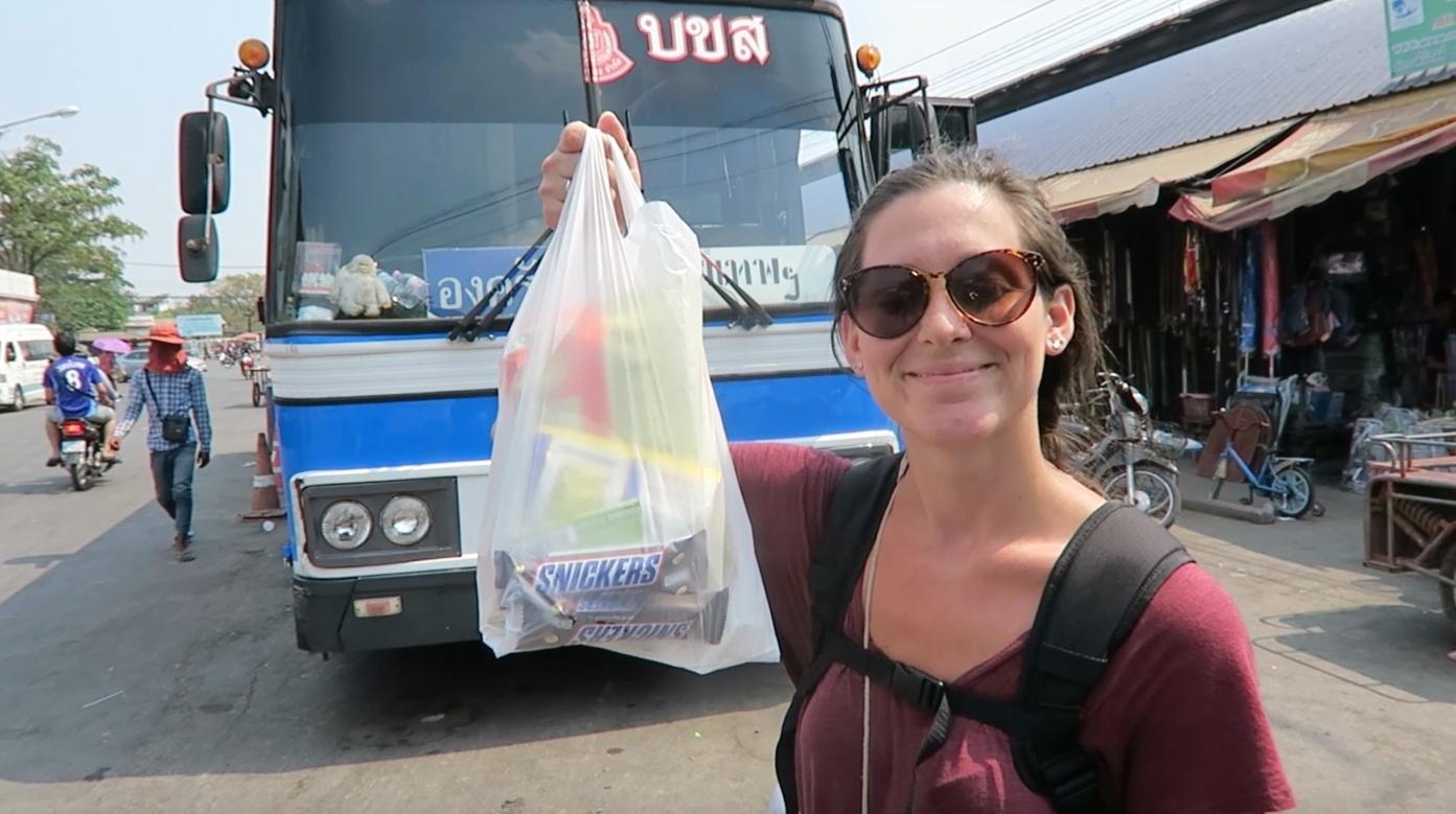 Bus Siem Reap to Bangkok