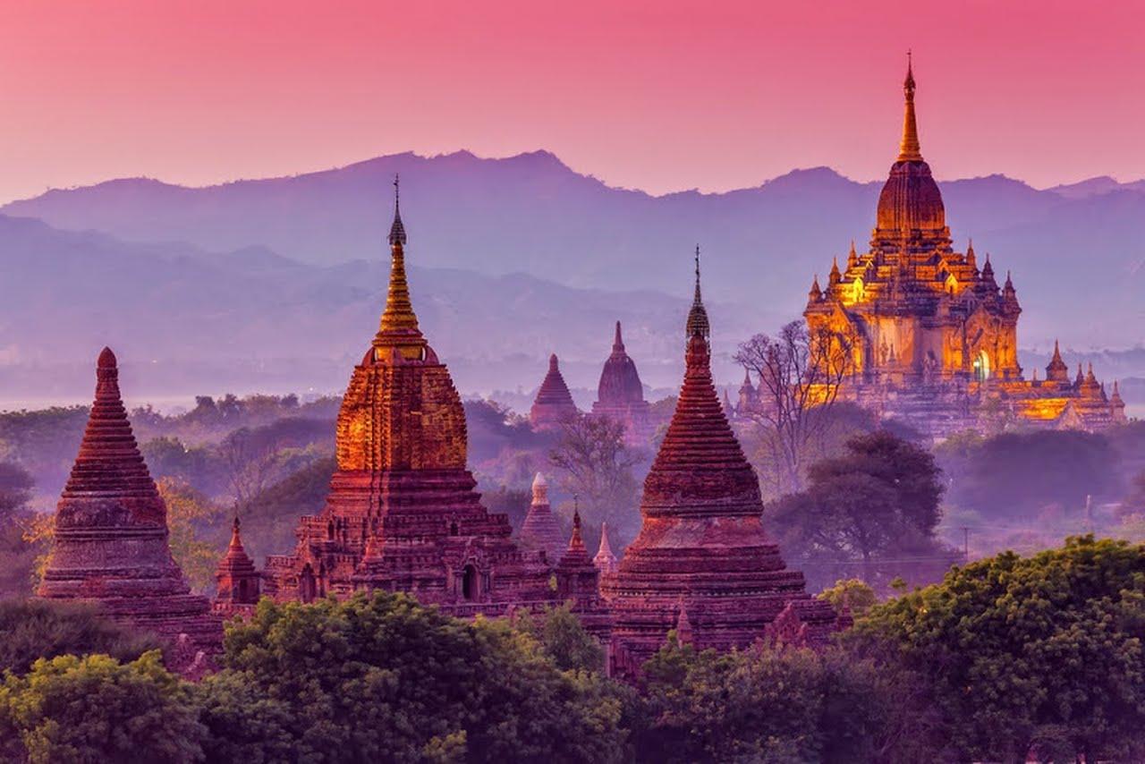 Breathtaking beauty of Myanmar