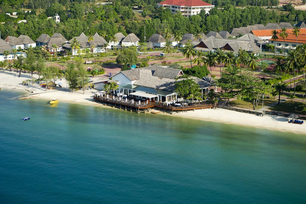 A resort in Sokha beach-Cambodia in summertime
