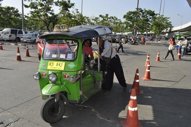 Direct bus from Bangkok to Siem Reap