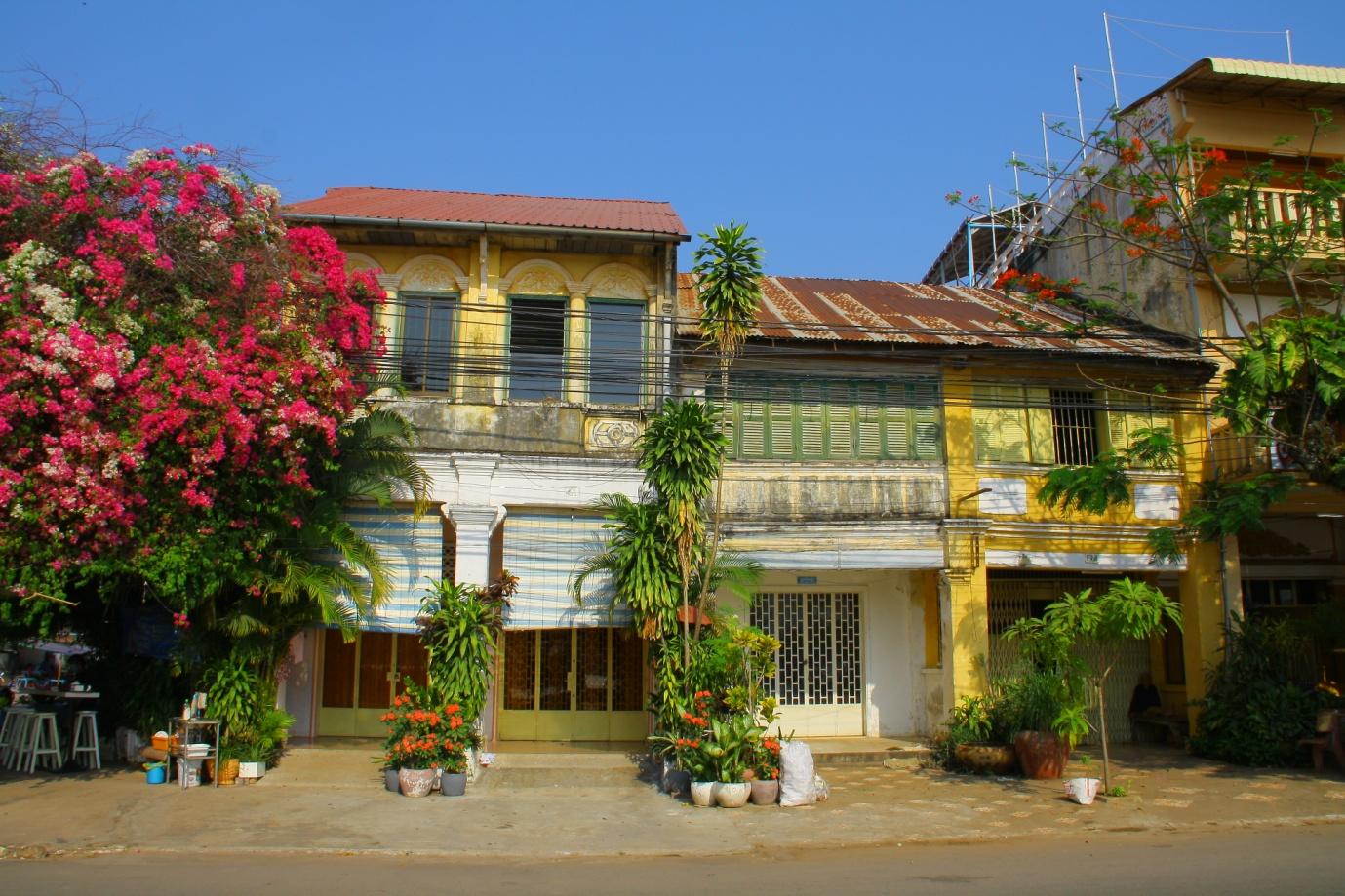Kampot architecture