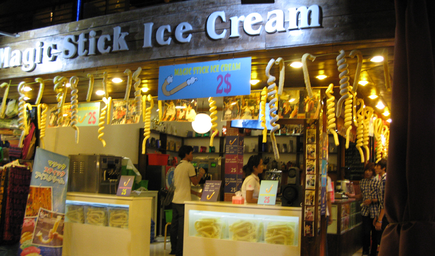 Magic Stick Ice-cream