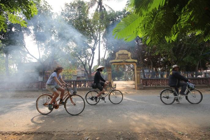 Biking tour in Battambang