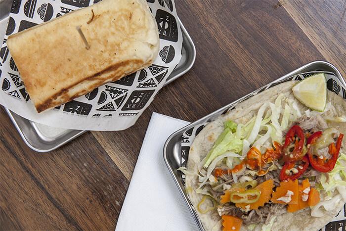 Pork taco at Kaifun