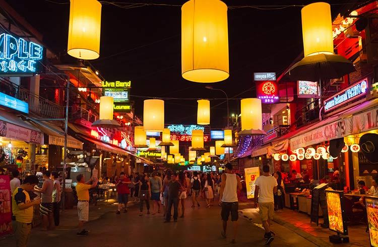 Prostitution in Cambodia after dark