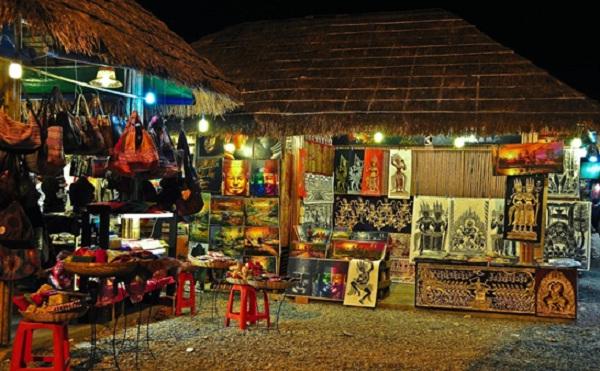 Angkor Night Market in Siem Reap