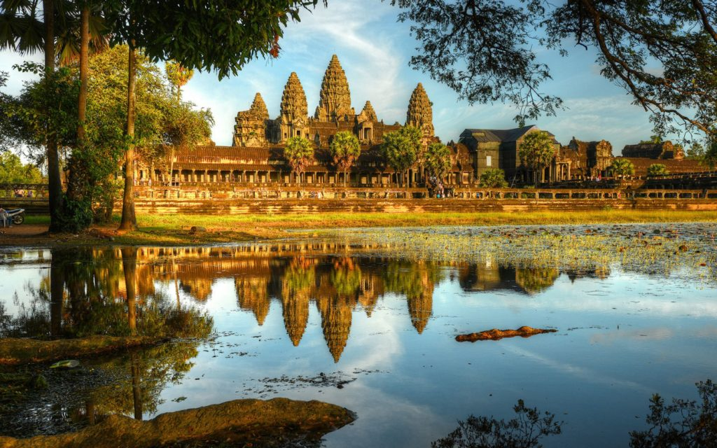 It's easy to approach Cambodia