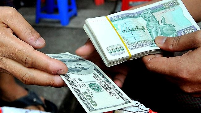 Kyat( Myanmar currency) is preffered to use