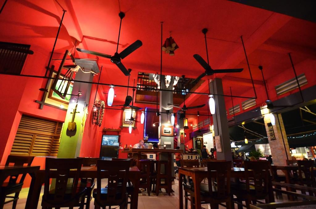 The Red Piano at Siem Reap's Pub Street