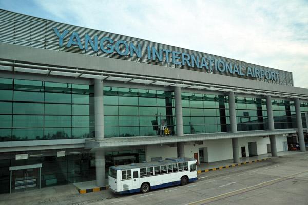 Yangon- The major international airport in Myanmar