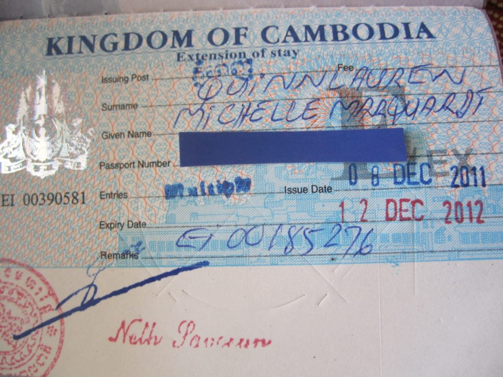 Ordinary visa