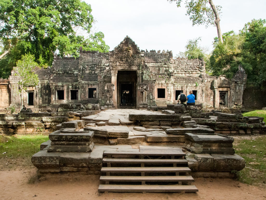Preah Khan inner complex