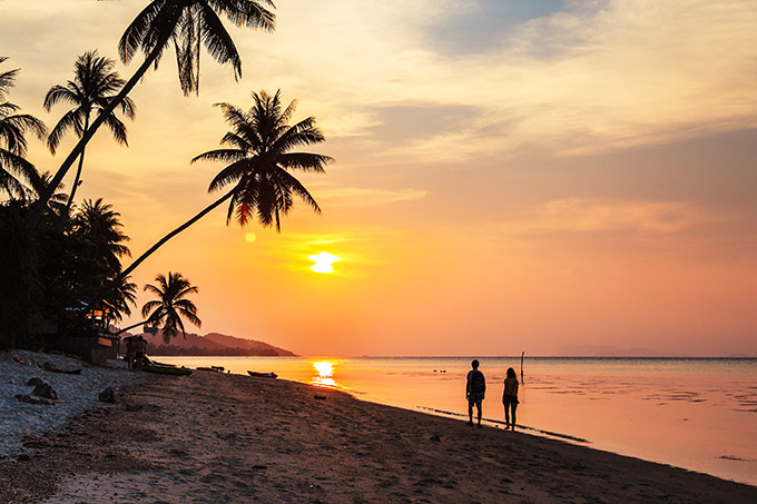 Sunset – thing to do in Koh Samui