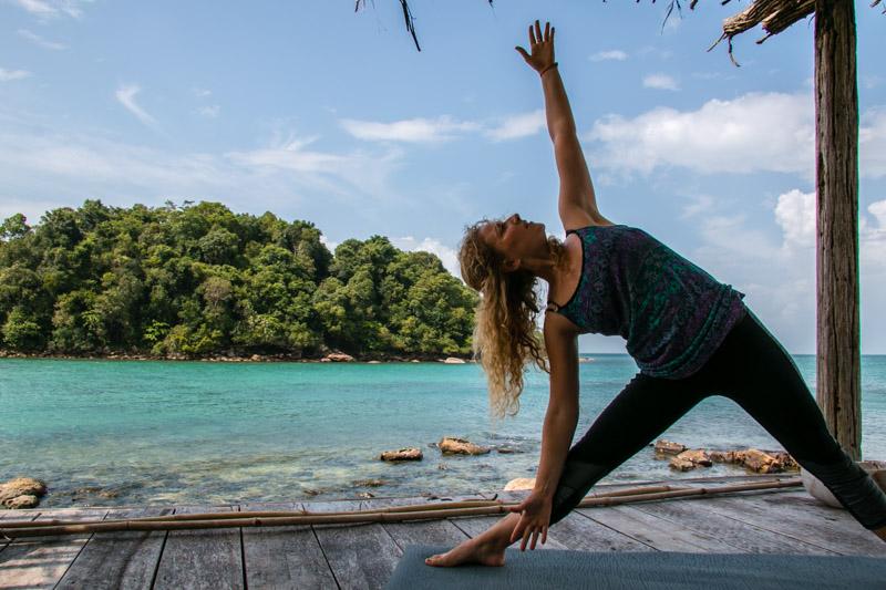 Yoga at Song Saa, Cambodia