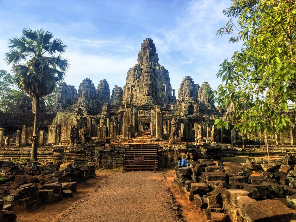 Angkor Thom- the ancient capital attracts many traveller