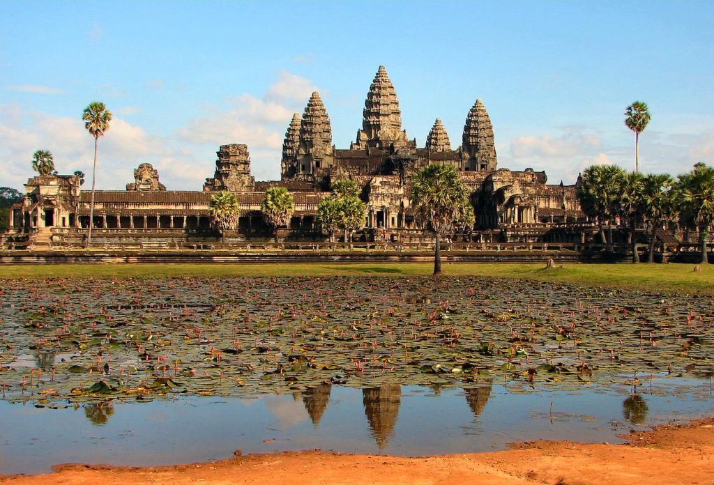Angkor Wat is beautiful all year round