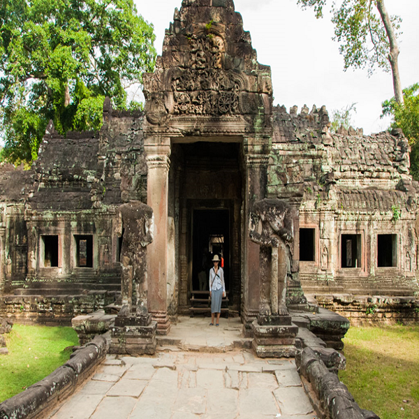 Entrance to the inner Preah Khan Temple