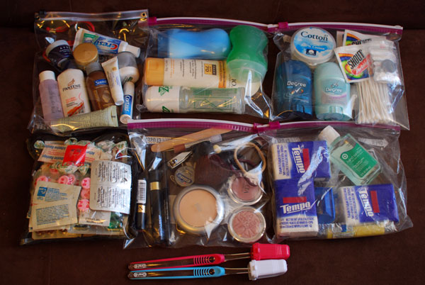 Medicines and toiletries for Siem Reap