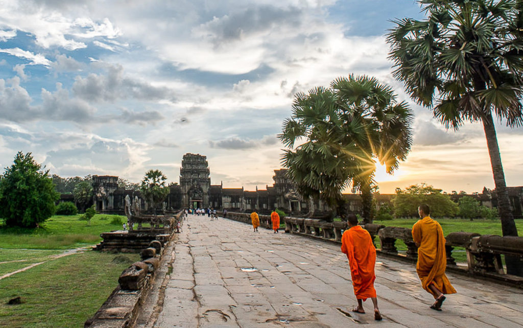 September is a great time to visit Angkor Wat for photographers