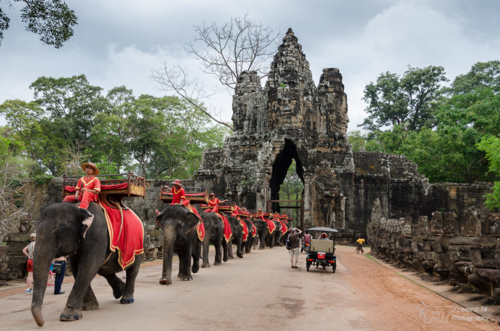 Victoria Gate is one important part of Angkor Thom's heart