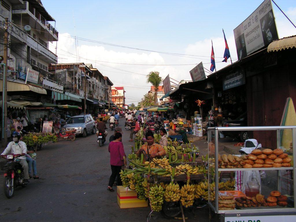A nom banh chok stand