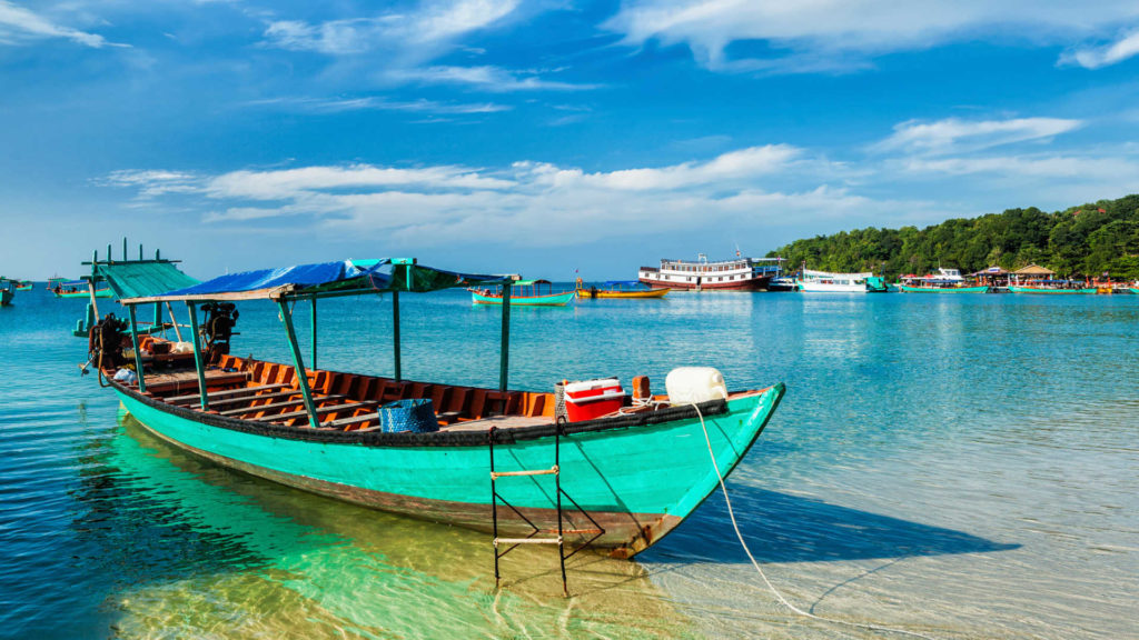 Sihanoukville is seen to be a great beach to visit