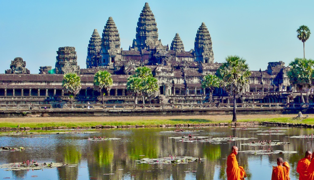 The ancient beauty of Angkor Wat